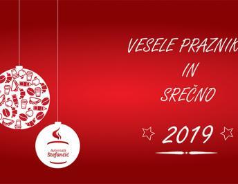 Vesele praznike in srečno 2019